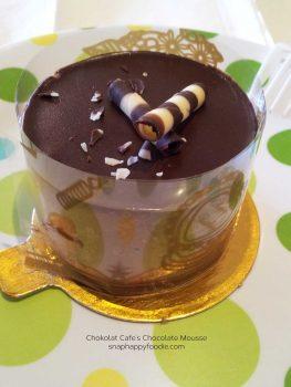 Eating Out: Chokolat Cafe   New York, NY