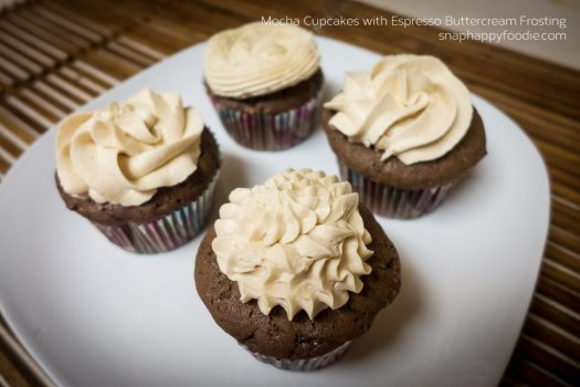 Yummy Experiment #18. Mocha Cupcakes with Espresso Buttercream Frosting