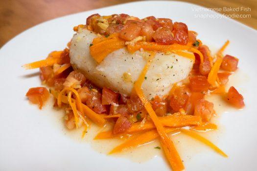Yummy Experiment #28: Vietnamese Baked Fish