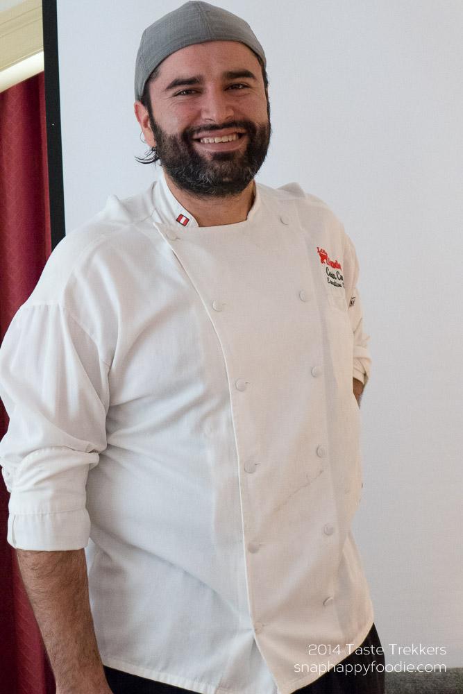 Chef Cesin Curi of Los Andes Restaurant
