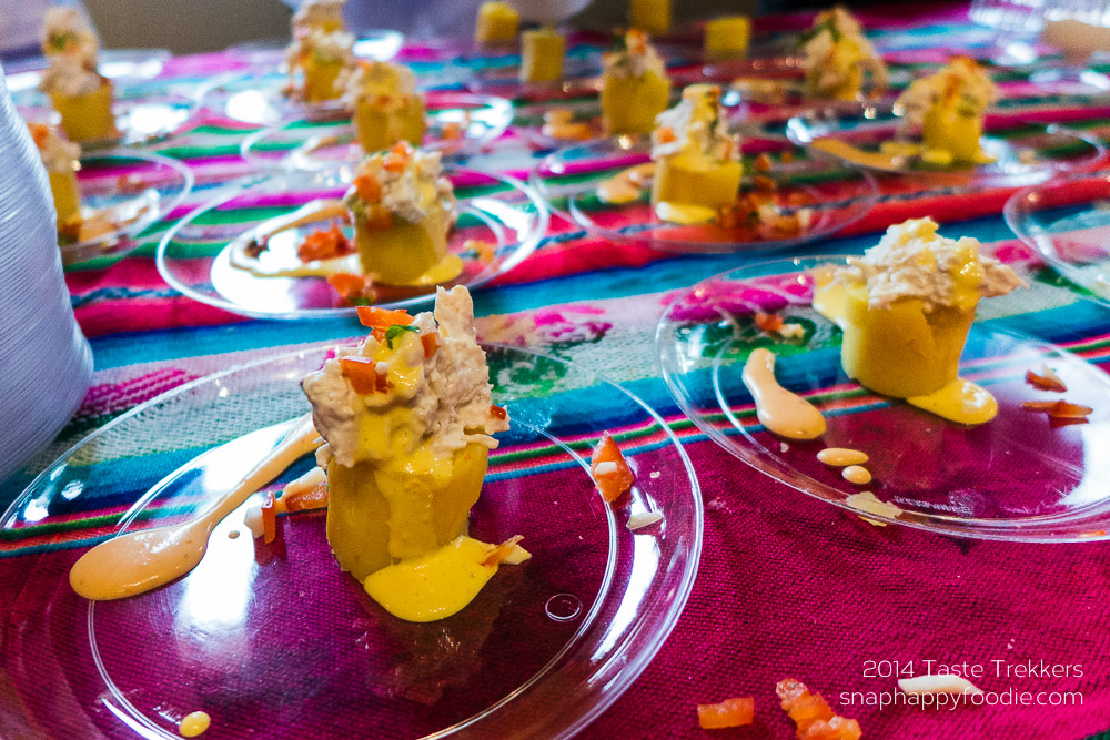 Causa Limena from Los Andes Restaurant