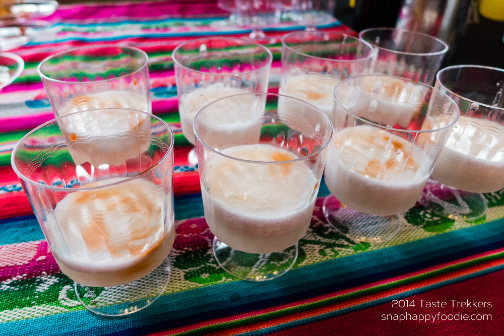 Pisco Sour from Los Andes Restaurant