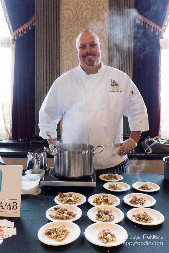 American Lamb's Chef Jeff Landry