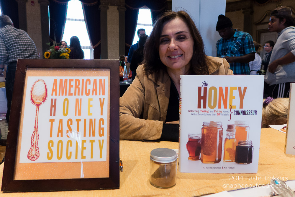 Carla Marina Marchese DeBenedetto of the American Honey Tasting Society