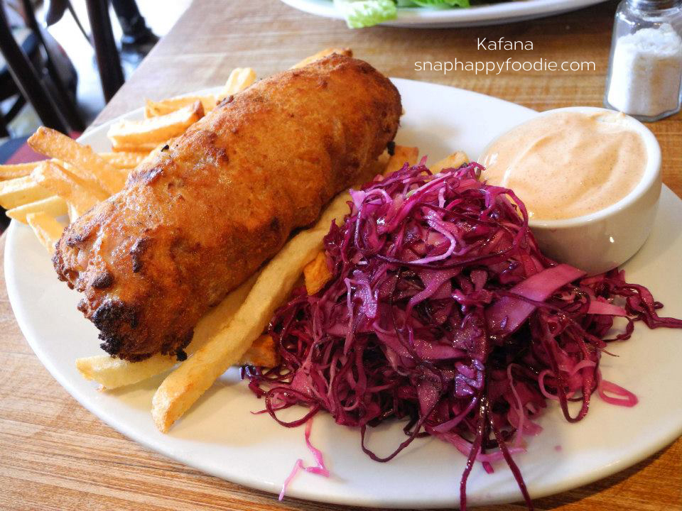 Karadjordjeva - pan seared schnitzel rolled with ham & creamy spread