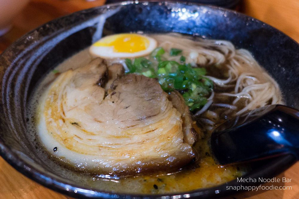 Tonkotsu Ramen from Mecha Noodle Bar