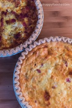 Yummy Experiment #47: Country Quiche Lorraine