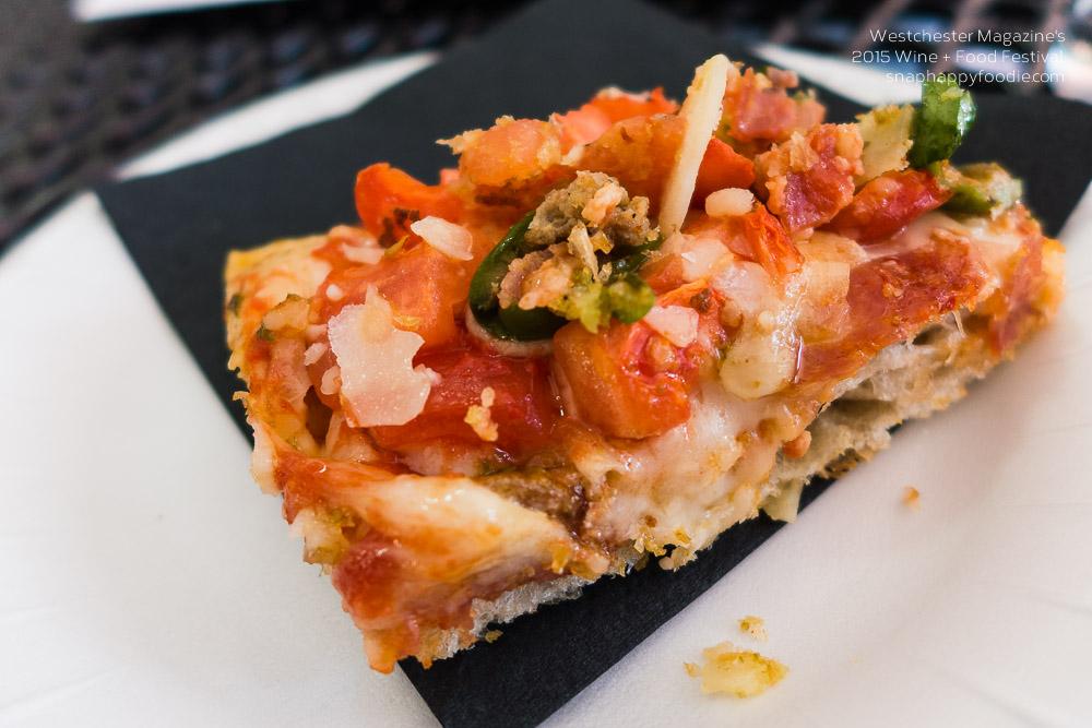 Pizza slice sample from Mr. Bruno DiFabio