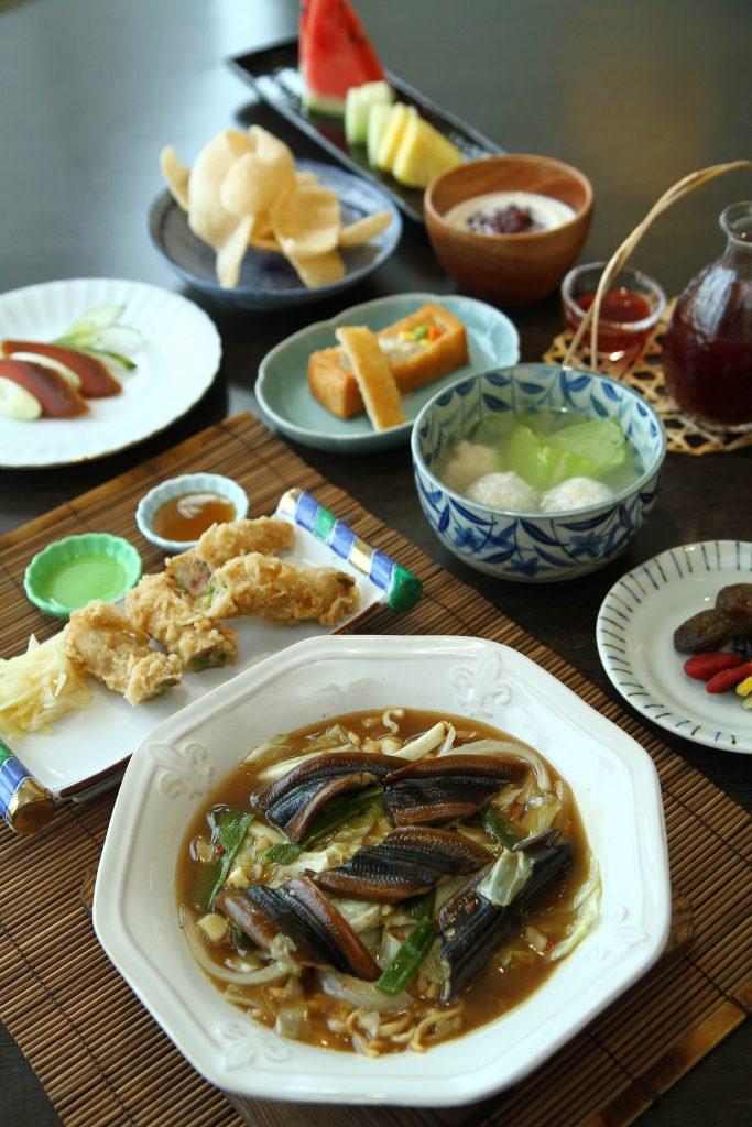 Set C (with eel noodles)