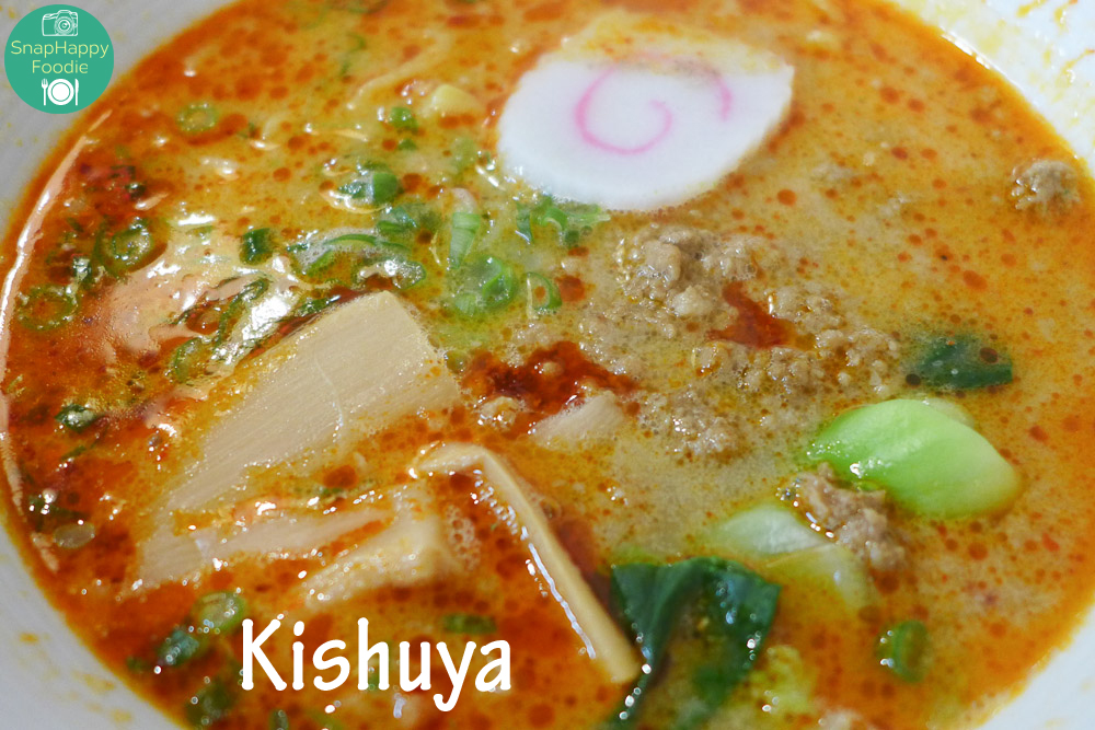 Tantanmen from Kishuya