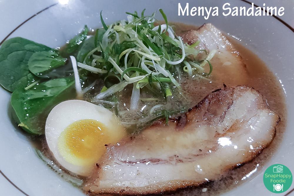 Tonkotsu Ramen from Menya Sandaime