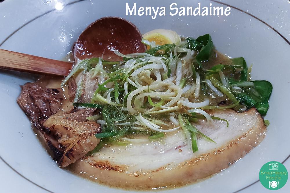 Karakuchi Ramen from Menya Sandaime