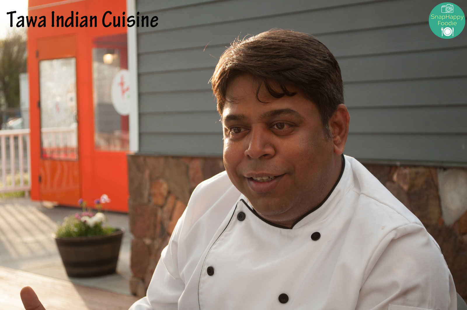 Chef Kausik Roy, the master behind Tawa Indian Cuisine
