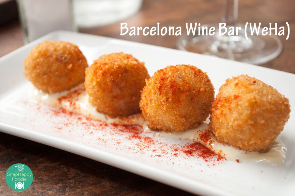 Manchego & Jamon Croquettes with Garlic Aioli