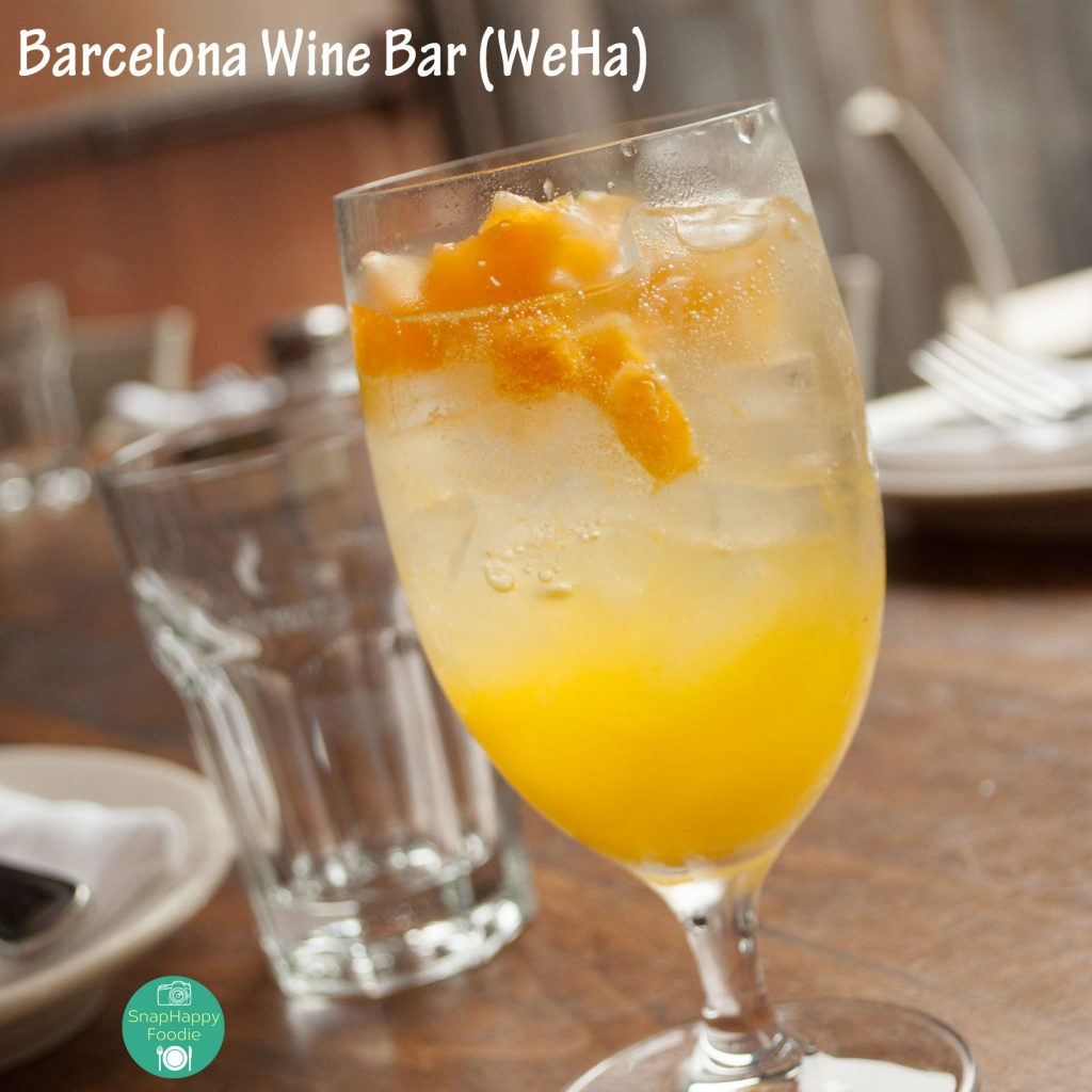 Cava Sangria with BarCava, St. Germain, Triple Sec and Orange Juice