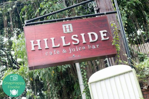 Eating Out: Hillside Cafe & Juice Bar | Quezon City, Philippines