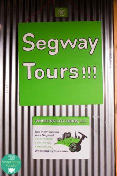 SnapHappy Foodie goes on a Segway Tour of New London, CT