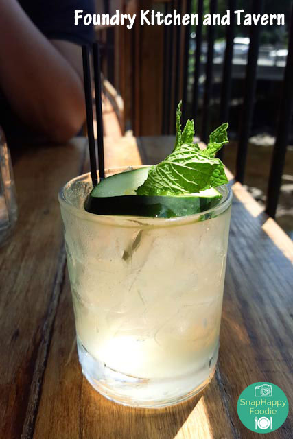 Cucumber Elderflower Fizz from Foundry Kitchen and Tavern