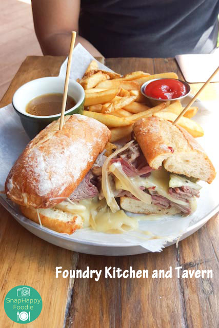Smoked Brisket French Dip from Foundry Kitchen and Tavern