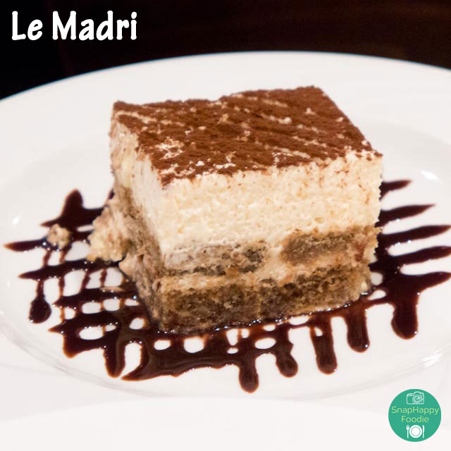 Tiramisu from Le Madri, Bethel CT