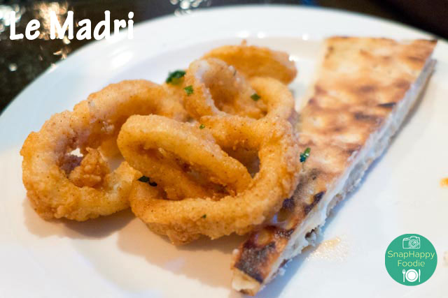 Calamari Fritti from Le Madri, Bethel CT