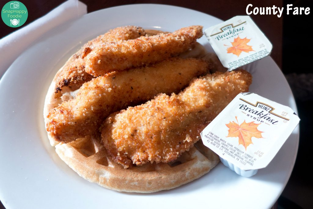 Chicken and Waffles from County Fare, Wappingers Falls NY