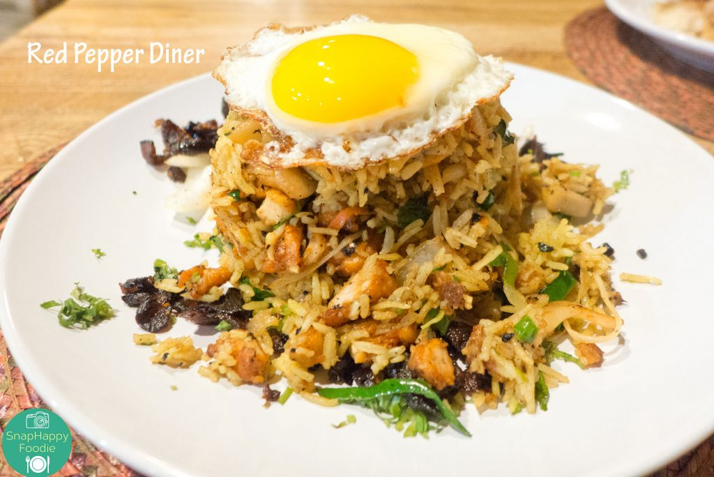 Nasi Goreng from Red Pepper Diner, Wappingers Falls NY