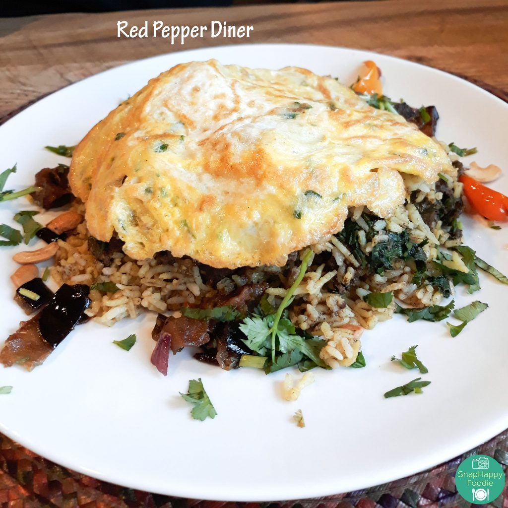 Beef Biryani from Red Pepper Diner, Wappingers Falls NY