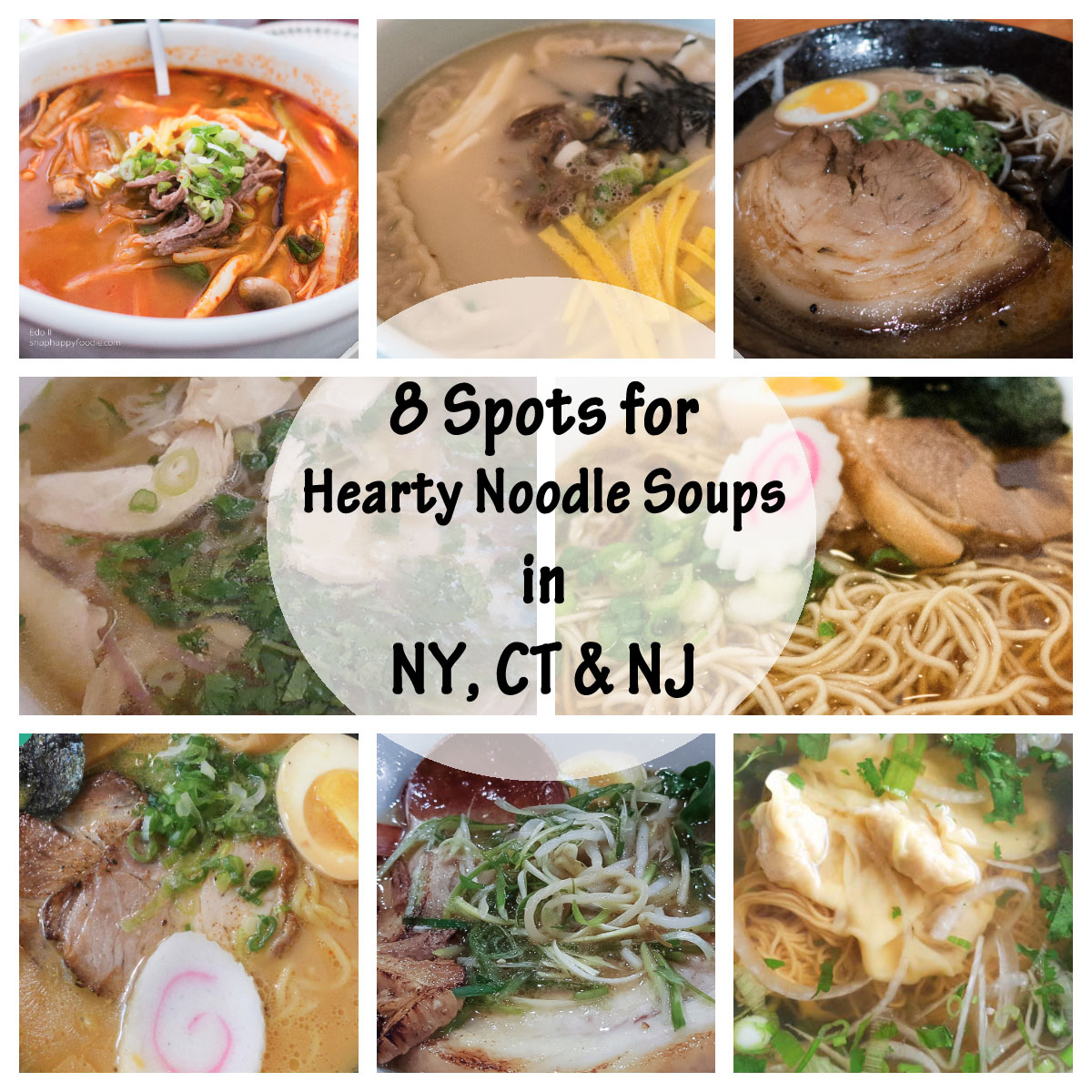 8 Spots for Hearty Noodle Soups in the NY Tri-State Area