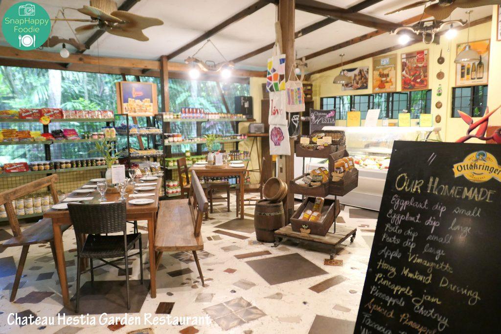 Chateau Hestia Garden Restaurant & Deli Shop