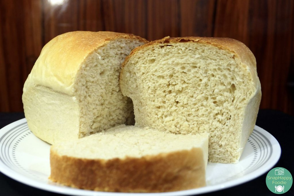 SnapHappy Foodie Homemade Sandwich Bread