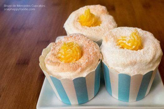 Yummy Experiment #27: Brazo de Mercedes Cupcakes