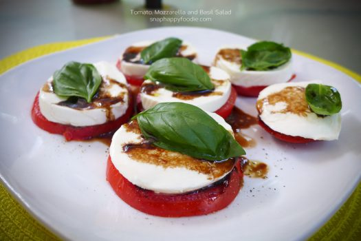 Time-Tested: Tomato, Mozzarella and Basil Salad