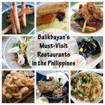 Balikbayan's Must-Visit Restaurants in the Philippines