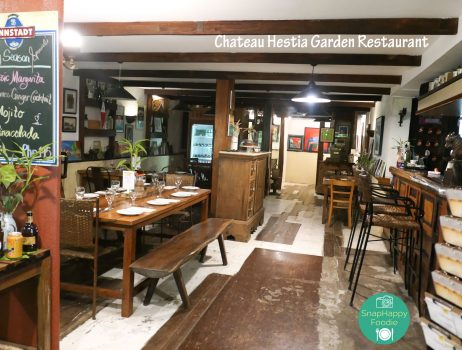 Eating Out: Chateau Hestia Garden Restaurant | Silang, Cavite, Philippines
